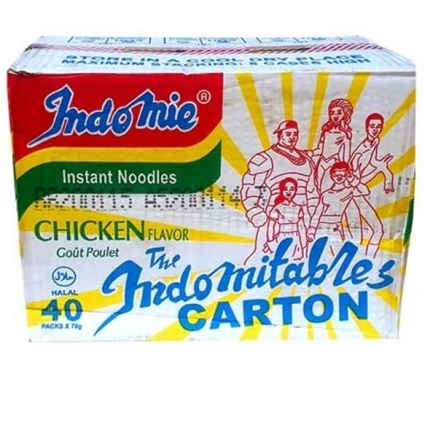 A Carton of Indomie with 40 pieces